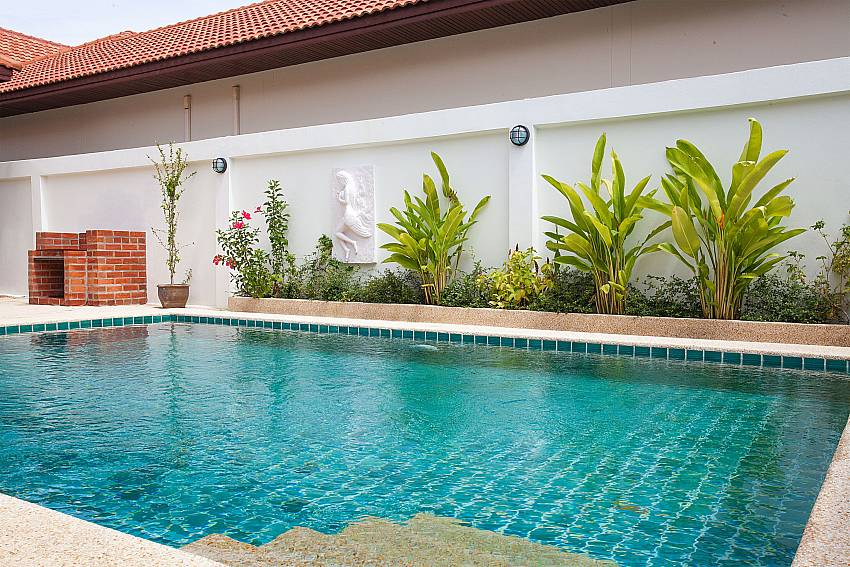 Refreshing private pool at Insignia Villa Pattaya