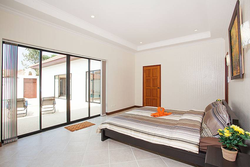 Direct pool access from bedroom at Insignia Villa Central Pattaya