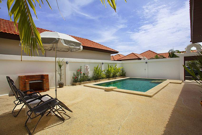 Full privacy at your own pool in Insignia Villa Pattaya