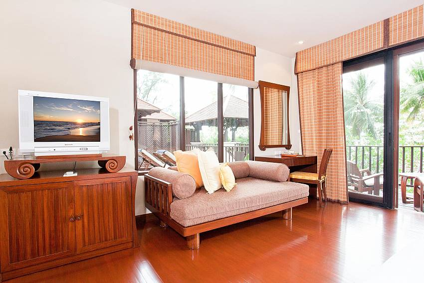 The Living Room Again Of Pimalai Beach Villa 1 Bedroom Luxury Property in Koh Lanta
