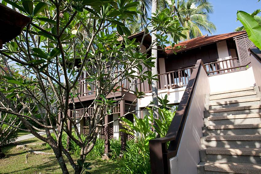 Stairs homes Of Pimalai Beach Villa 1 Bedroom Luxury Property in Koh Lanta