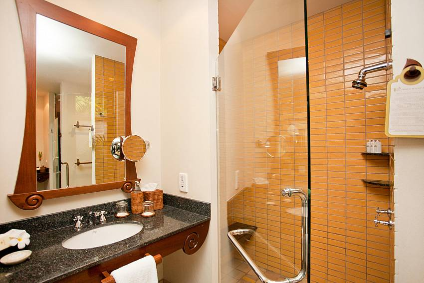 BAthroom Of Pimalai Beach Villa 1 Bedroom Luxury Property in Koh Lanta