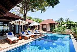 3 Bedroom Beachfront Pool Villa at Kan Tiang Bay in Koh Lanta