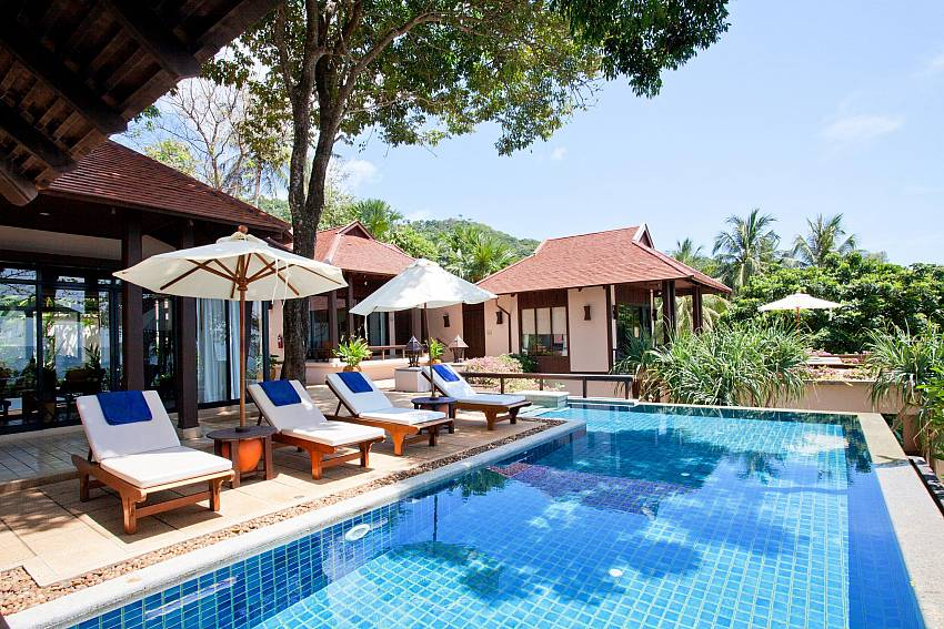 Swimming pool Of Pimalai Beach Villa