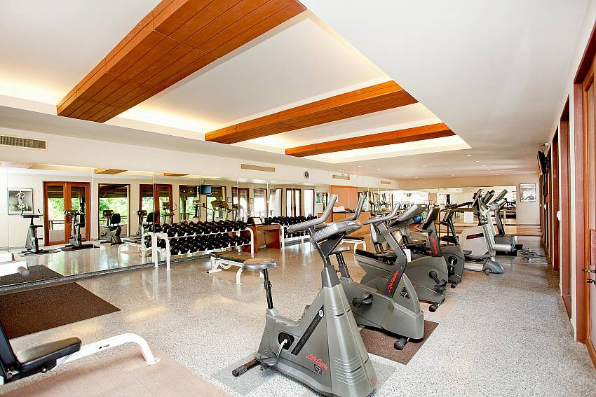 Fitness room Of Pimalai Beach Villa