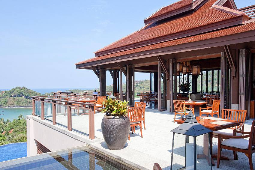 Dining table outdoor Of Pimalai Beach Villa