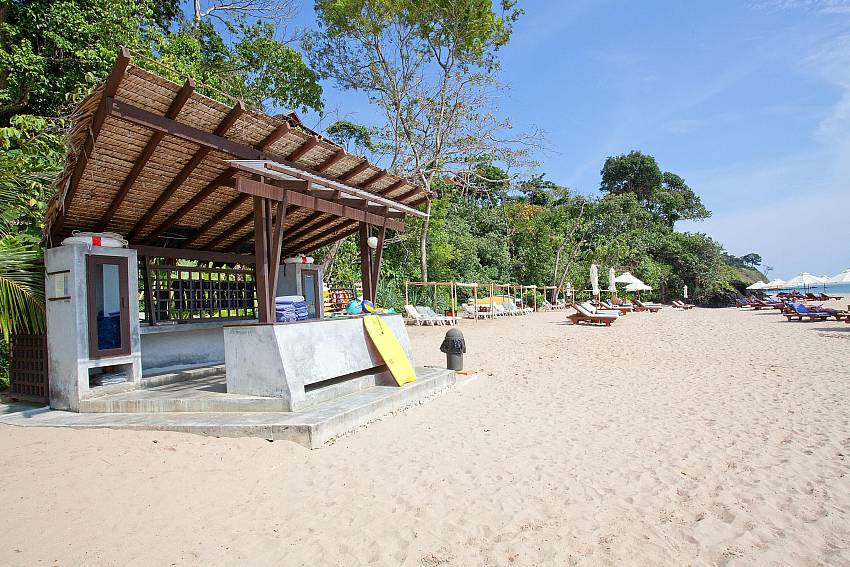 Beach front Of Pimalai Beach Villa