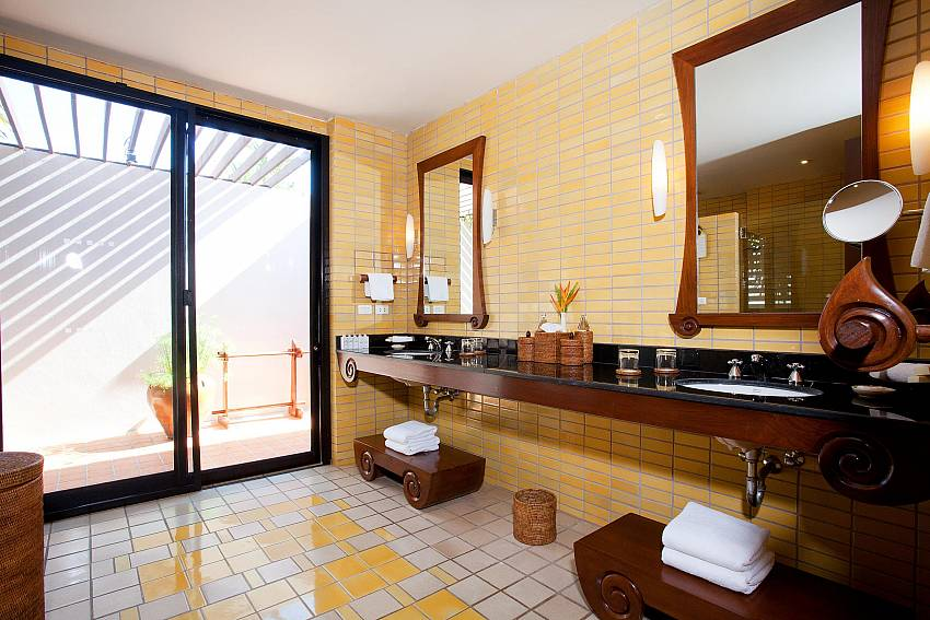 Bathroom Of Pimalai Beach Villa