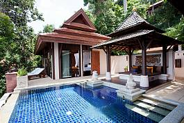 Private Swimming Pool with One Bedroom Villa.