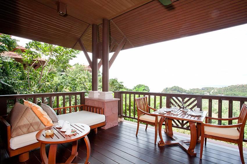 Comfortable Balcony Of Pimalai Pool Villa Stylish