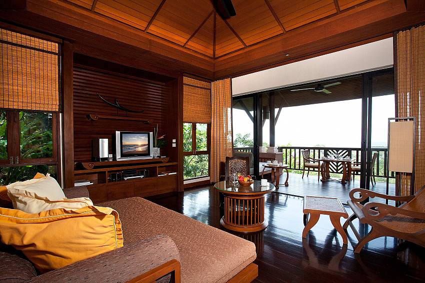 Living room Of Pimalai Pool Villa Stylish