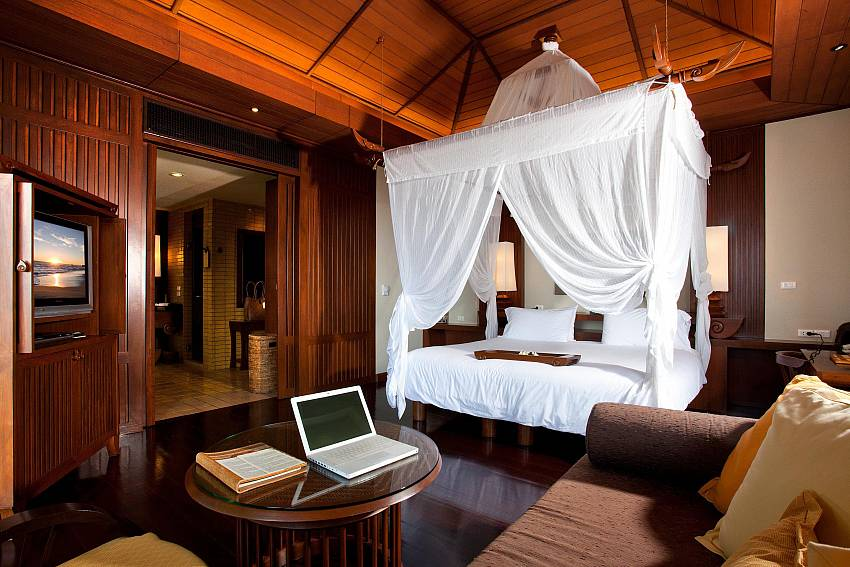 Bedroom design Of Pimalai Pool Villa Stylish