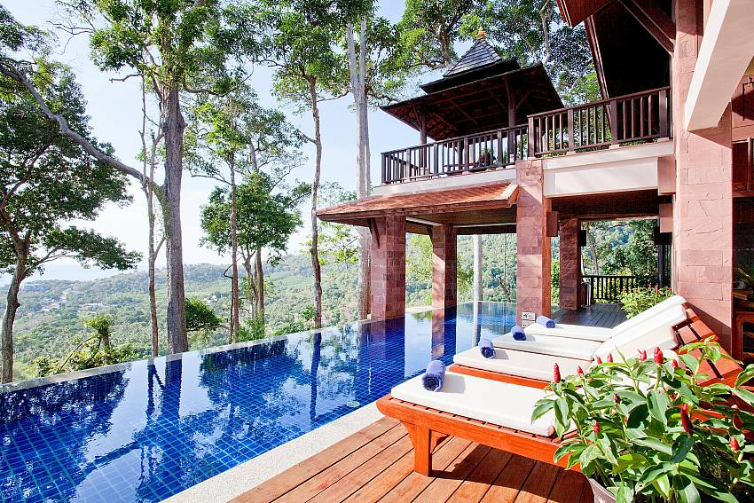 Overall atmosphere edge the pool Of Pimalai Pool Villa Incredible