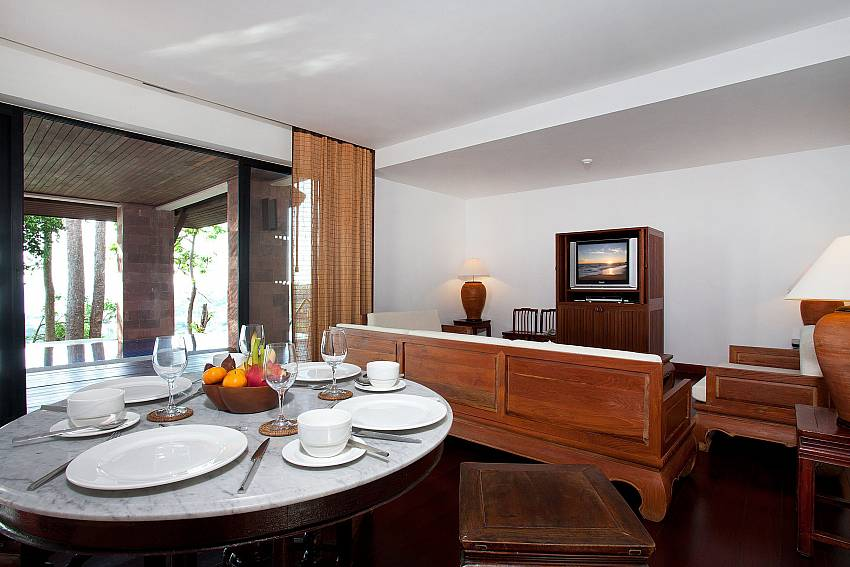Dining table Of Pimalai Pool Villa Incredible