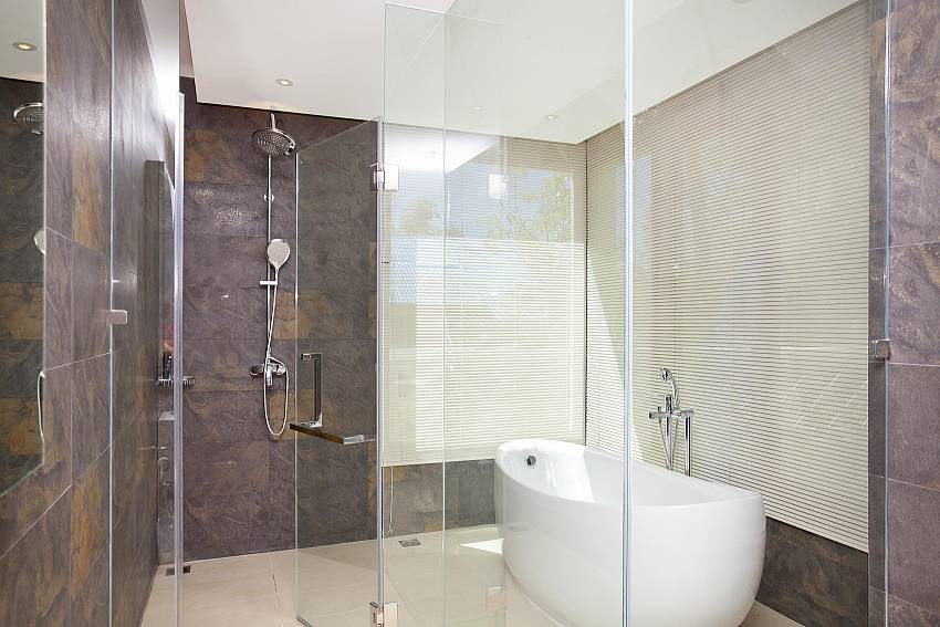 Bathroom design Of Koh Chang Wave Villa A
