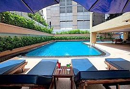 Sala Daeng Deluxe Suite Room 605 | 2 Bed Apartment in Silom Bangkok