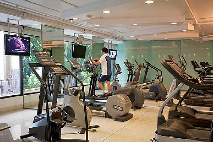 Fitness room Of Sala Daeng Deluxe Suite Room 605