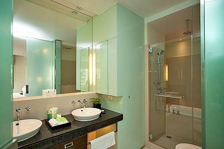 Bathroom design Of Sala Daeng Designer Suite Room 606