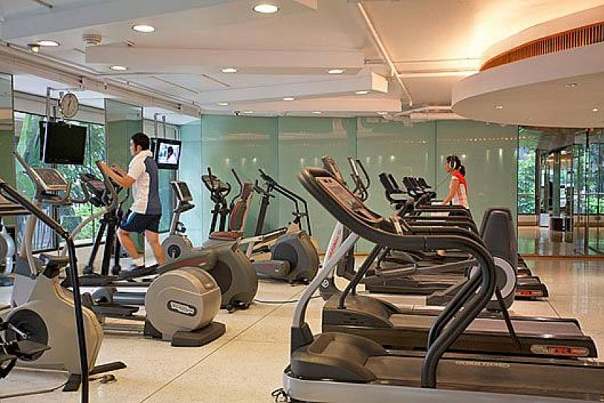 Fitness room Of Sala Daeng Designer Suite Room 606