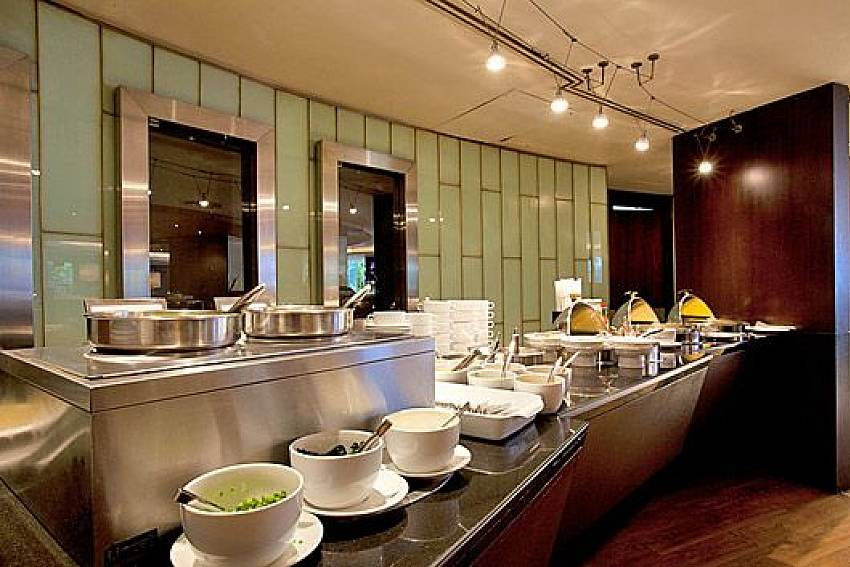 Food Buffet Of Sala Daeng Designer Suite Room 606