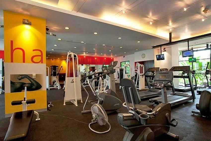 Fitness room Of Sathorn Suite Room 7073