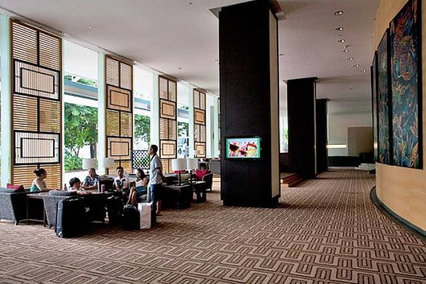 Zone reception Of Sathorn Suite Room 7073