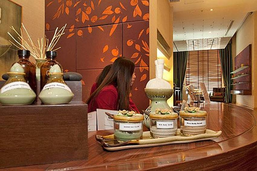 Spa Reception Of Sathorn Suite Room 7073