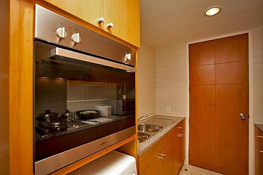 Kitchen room Of Sathorn Suite Room 7071