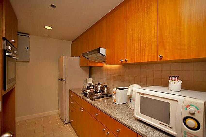 Kitchen room Of Sathorn Suite Room 5151