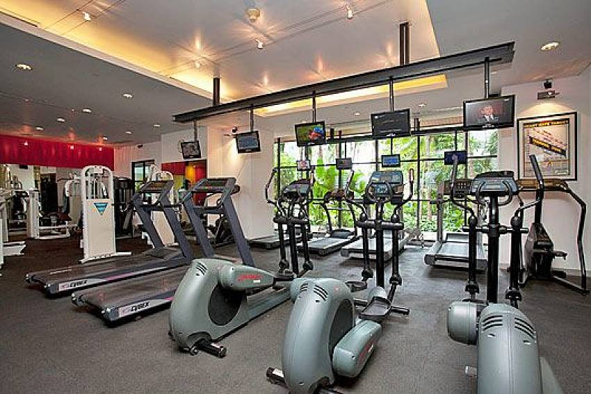 Fitness room Of Sathorn Suite Room 5151