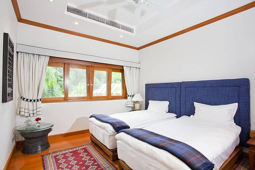 Double bedroom views Of Teak Villa Suandok (Third)