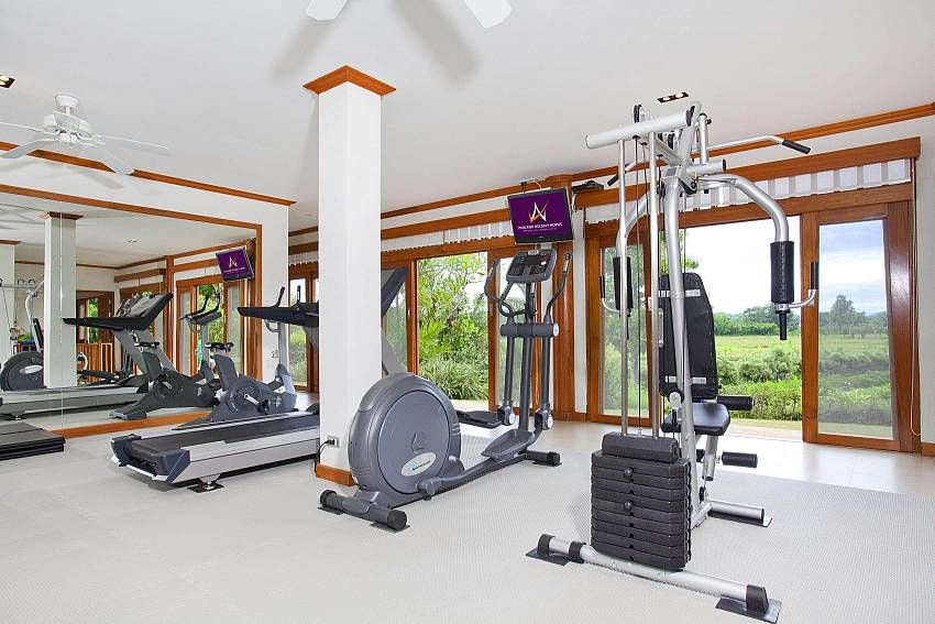 Fitness Of Teak Villa Suandok