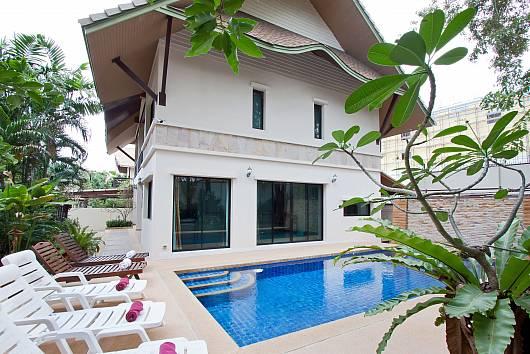 Аренда виллы в Паттайе: Baan Kon Lafun, 3 Спальни. 6500 бат в день