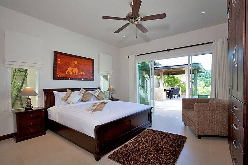 Bedroom see views Of Villa Yok Kiao (Six)