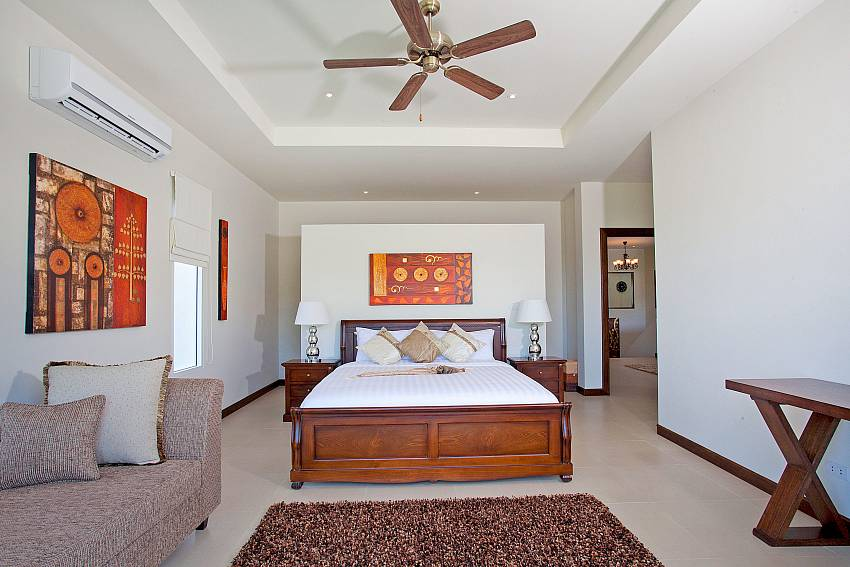 Bedroom with sofa Of Villa Yok Kiao (First)