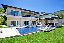 6Br Serviced Pool Villa With Luxury Modern Interior Nai Harn Phuket