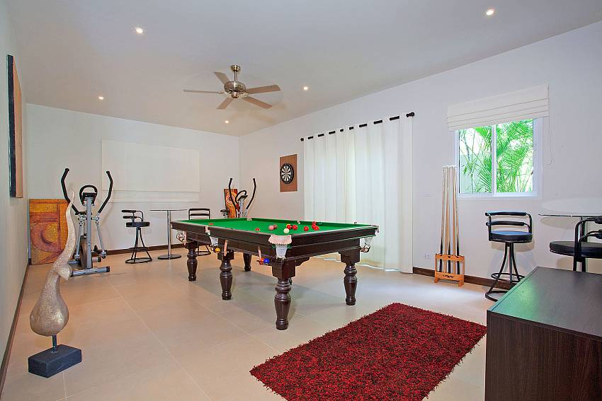 Pool table at Villa Ampai near Nai Harn Beach Phuket