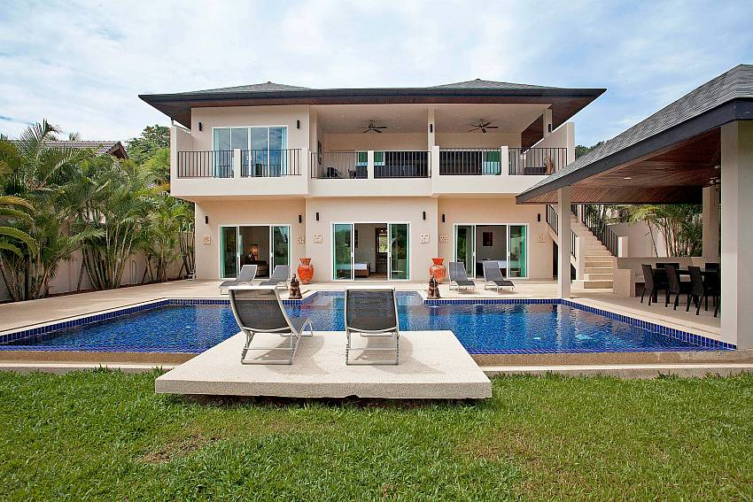 2 storey 6 bedroom Villa Ampai at Nai Narn Phuket