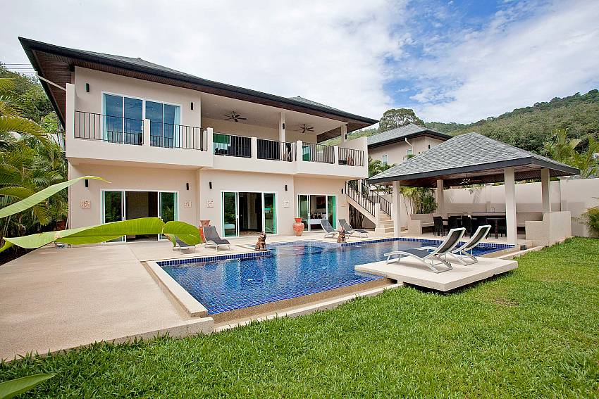 Great Villa Ampai for a big family holiday in Phuket