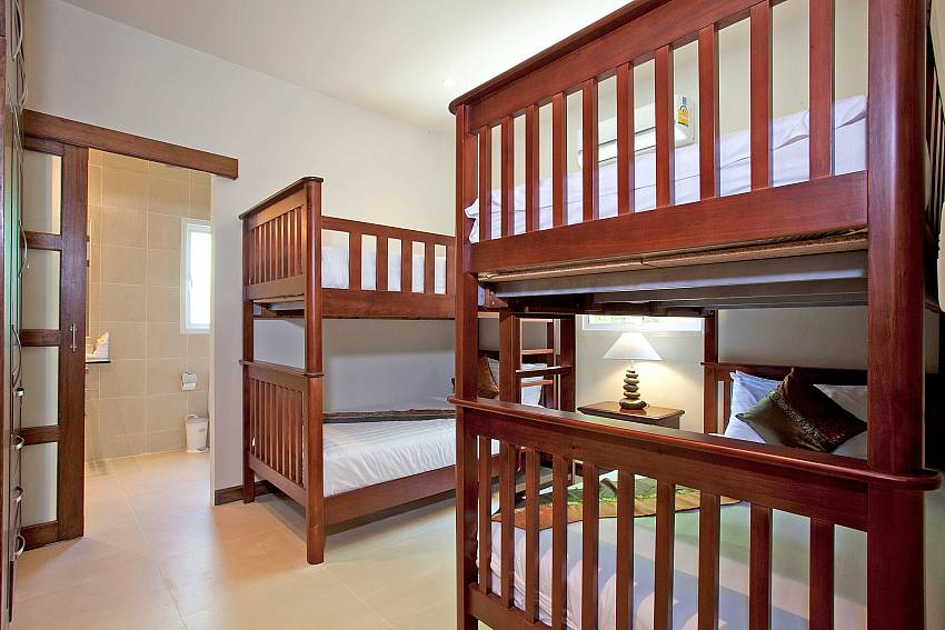 Double bedroom two floors Of Villa Ampai