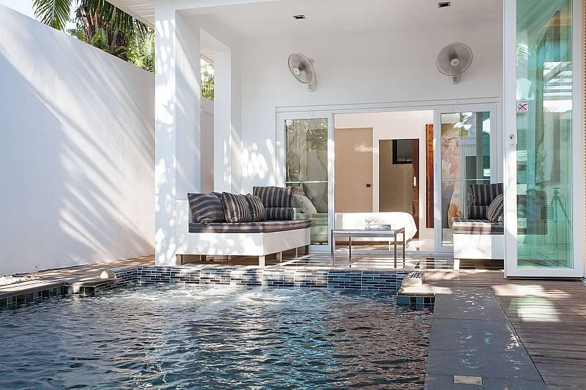 Private pool at Pratumnak Regal Villa in Pattaya
