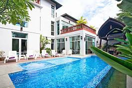 Modern 6Br Villa with Private Pool in Peaceful Location Na Jomtien Pattaya