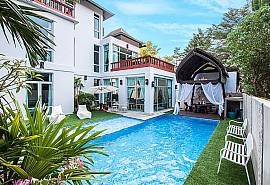 Jomtien Waree 6 | 7 Bed Modern Pool Villa in Na Jomtien South Pattaya