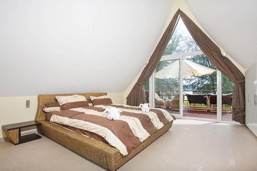 Bedroom see views Of Koh Chang View Villa (Second)
