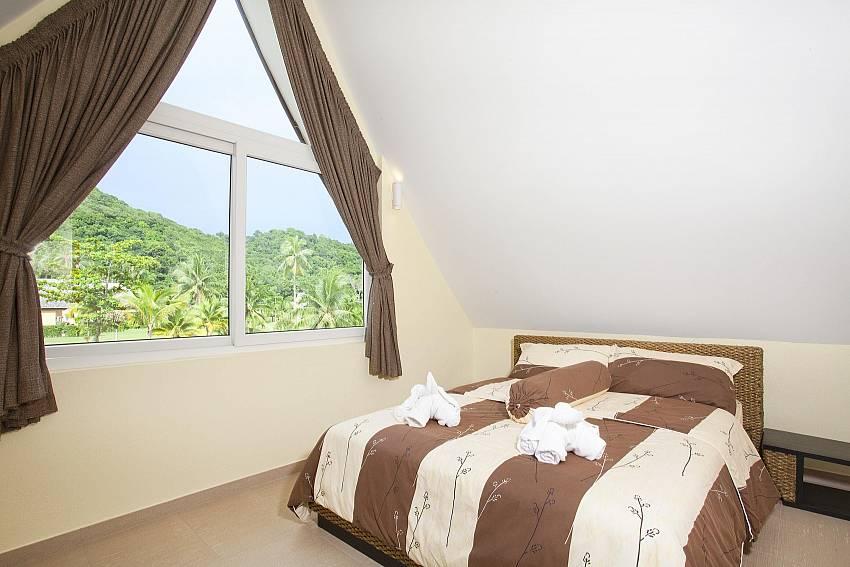 Bedroom views Of Koh Chang View Villa (Third)