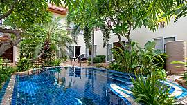Villa Pratumnak Elite - 4 Bed - Jacuzzi and Tropical Garden