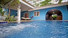 Jomtien Paradise Villa - 5 Bed - Private Jet Pool and Sauna