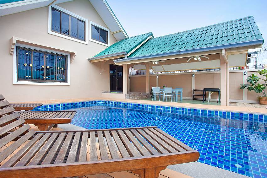 2 bedroom house Villa Enigma in South Pattaya with private Pool