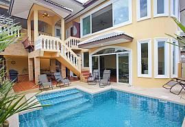 Villa Patiharn - Villa 7 chambres avec piscine et barbecue, est de Pattaya
