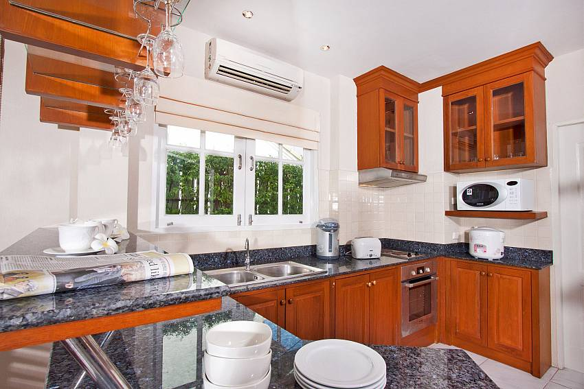 Western style kitchen at Jomtien Ascension A Villa in Pattaya